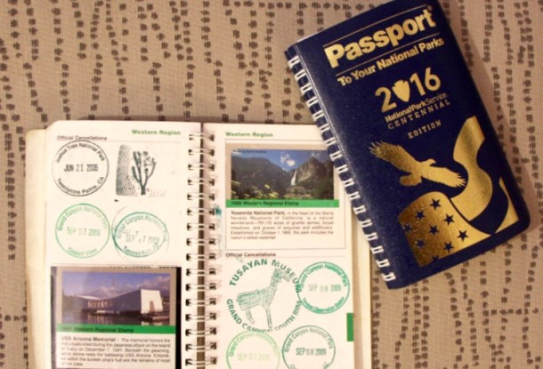 The National Parks Passport is a great way to keep track of which U.S. National Parks you've been to. Great for kids and families who love visiting National Parks.