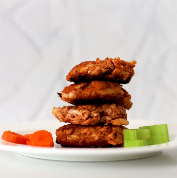AIP BBQ Chicken Fritters are an easy chicken autoimmune recipe! Use AIP pulled chicken and BBQ sauce to create a delicious and healthy AIP chicken recipe for lunch, dinner, or snack!