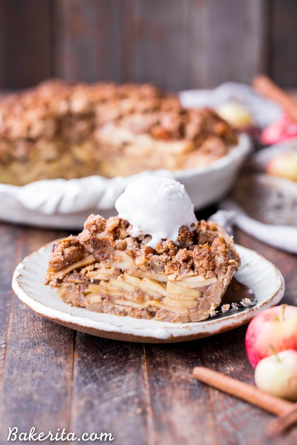 Paleo apple pie is the best paleo dessert
