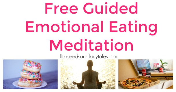 This free guided emotional eating meditation stops stress eating forever so you can lose weight fast