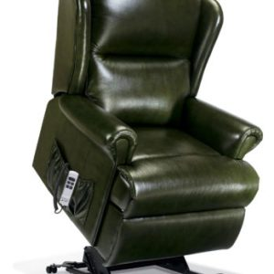 Malvern Royale Leather 'Lift & Rise' Recliner