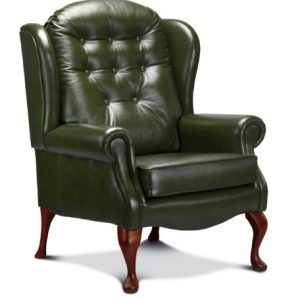Lynton Petite Leather High Seat Chair