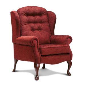 Lynton Petite Fabric High Seat Chair