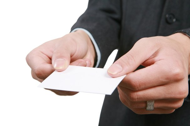 Business Card Etiquette - 朝陽科技大學