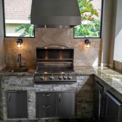 Backsplash Kitchen Corner Dining Bench Creative Outdoor Kitchens - ...
