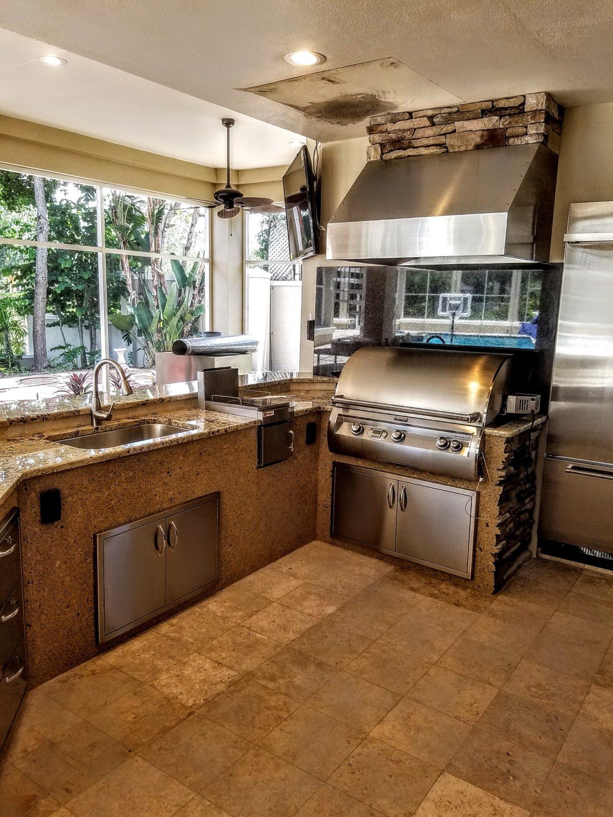 Backsplash Creative Outdoor Kitchens Of Florida