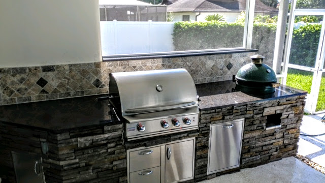 Backsplash Creative Outdoor Kitchens Of Florida