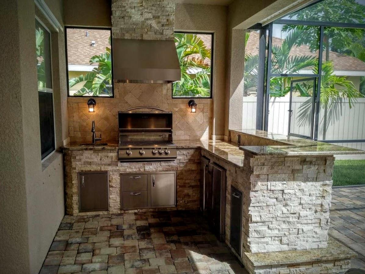 outdoor kitchen hood and bath store creative kitchens of florida hoods stone granite 2