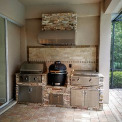Outdoor Kitchen Hood Canisters Cream Creative Kitchens Of Florida Hoods Stone Granite 9