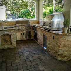 Outdoor Kitchen Pics Faucets Parts Creative Kitchens Of Florida With