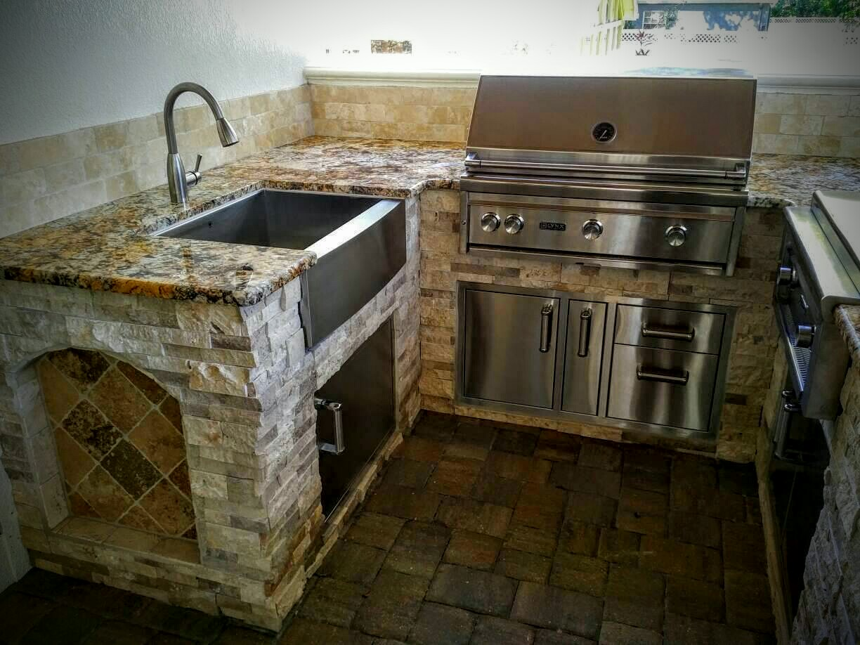 outdoor kitchen oven commercial equipment list creative kitchens of florida with