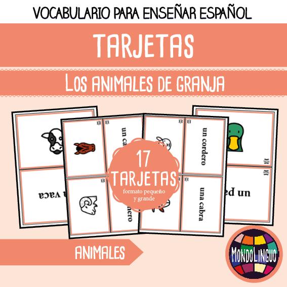 MondoLinguo-FlashCards-AnimalesGranja-Visuel
