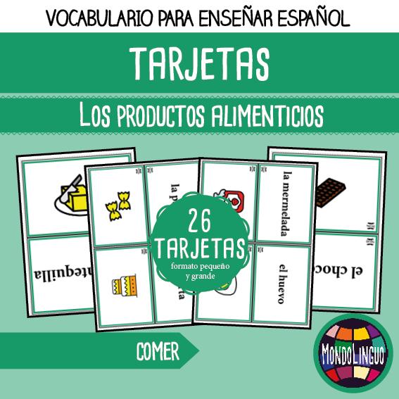 MondoLinguo-FlashCards-ProductosAlimenticios-Visuel