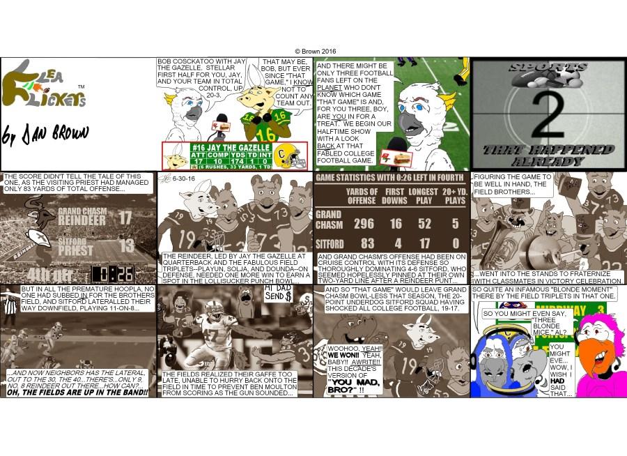 chronological strip 50, Sunday strip 5