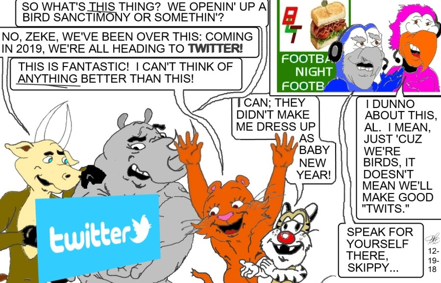 Twitter ad for 2019 and the Flea Flickers gang!