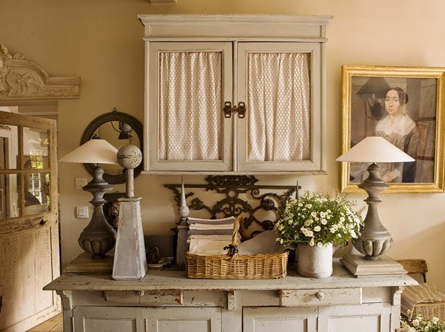 Shabby Chic French Vintage Interior Design