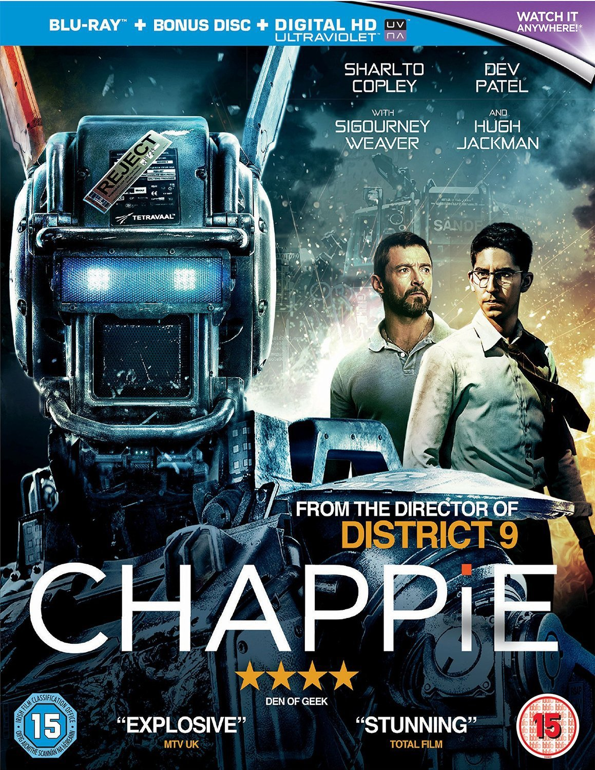 CHAPPiE  The Fleapit Cinema and Video Shop