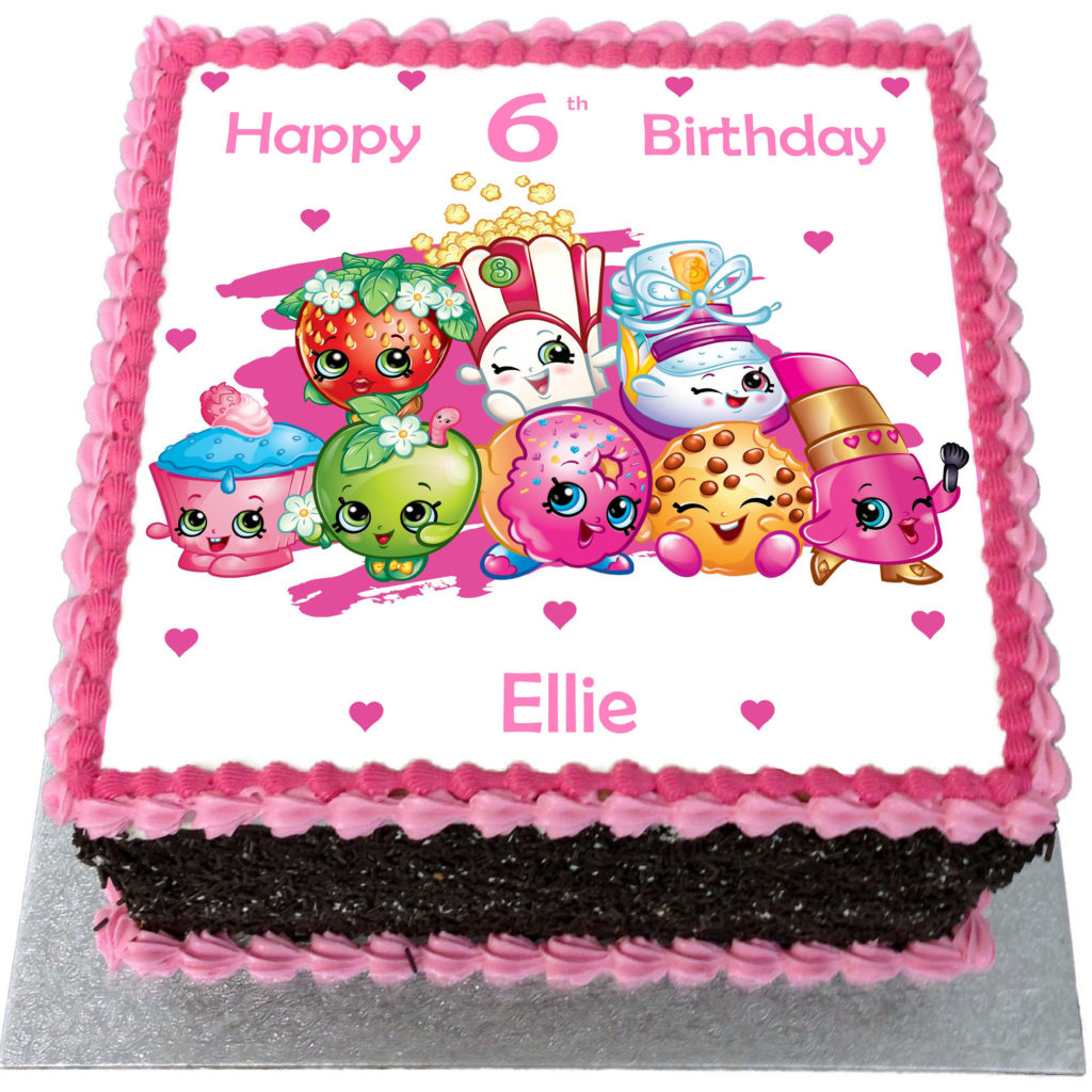 Shopkins Cake Price