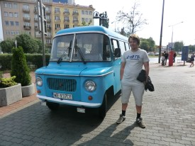 Tour på 1960 talls buss