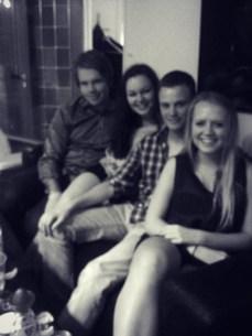Sjur, meg, Sander og Eidi