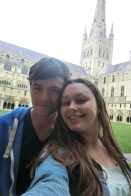 David and I