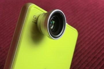 Detachable Macro/Wideangle lens