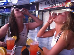 Yummy shot! (Caramell vodka)
