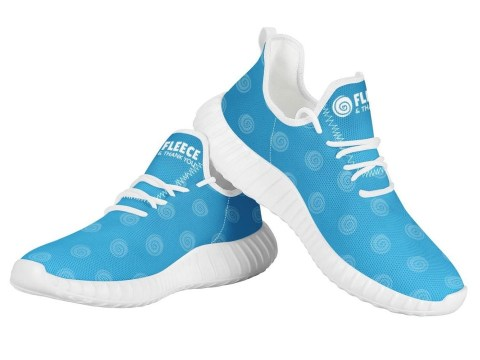 FTY Blue Shoes w/ Small Swirls