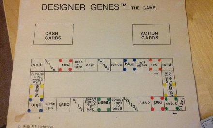 Designer Genes : The Game – History from 1984 and it's original inception