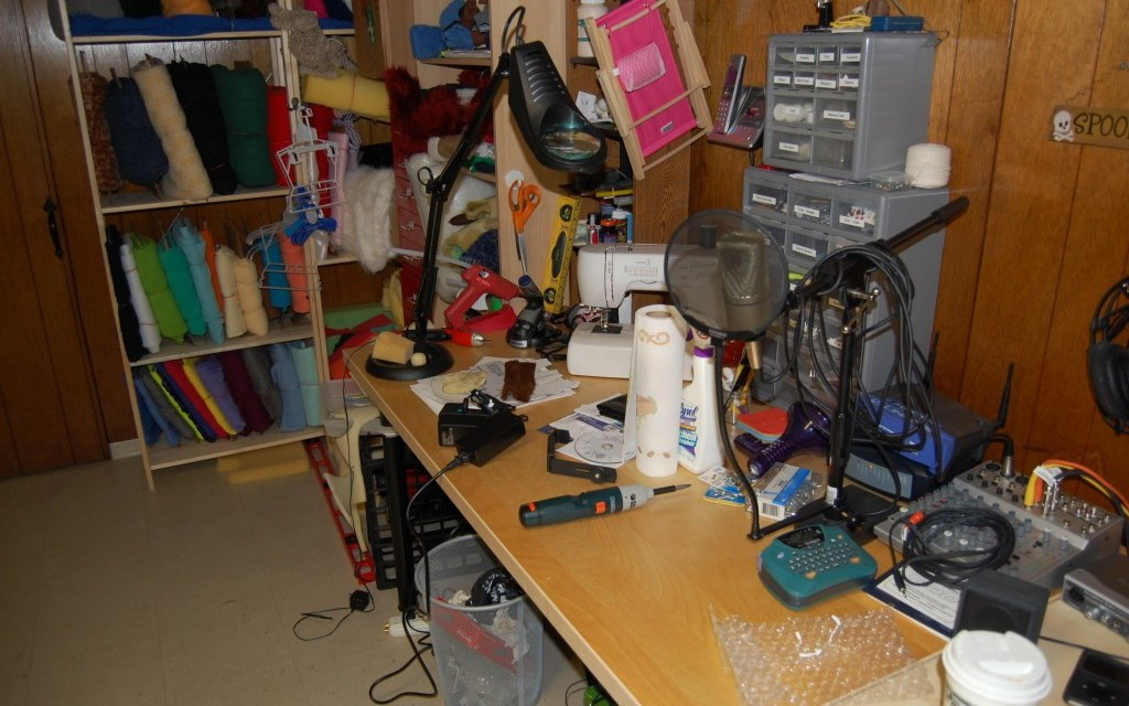 What my workshop looked like