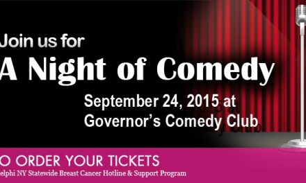 Support Breast Cancer – Comedy Night at Governors 9/24/15