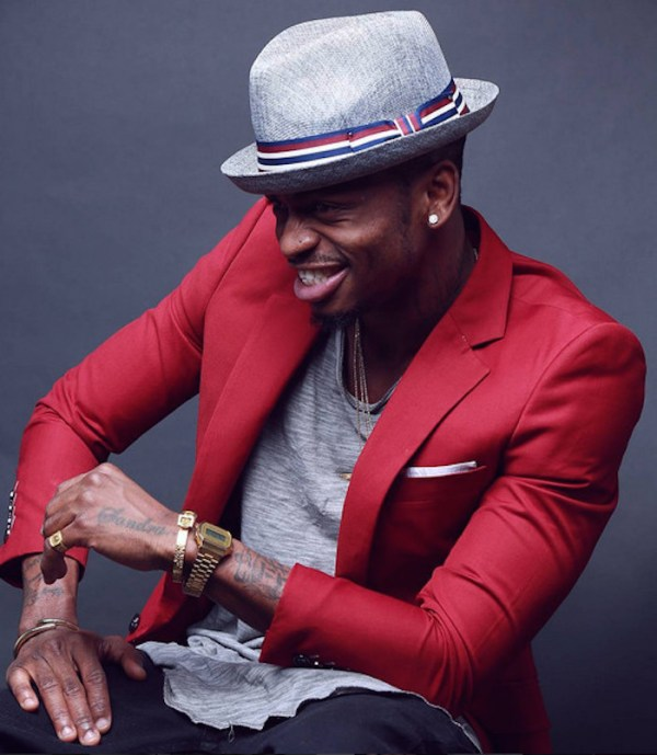 diamond plutnumz red blazer