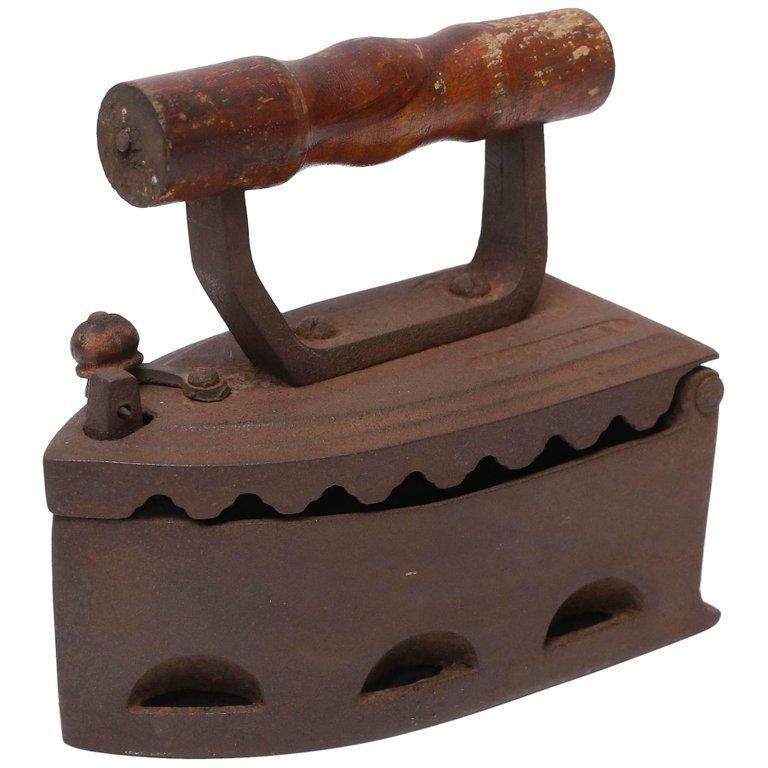 charcoal iron box