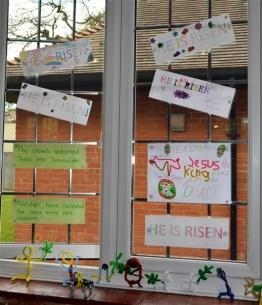 'He is Risen' Window 6