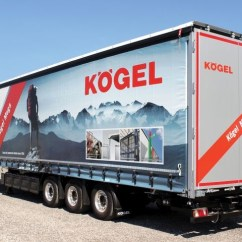 Semi Trailers For Sale In Germany Wiring Diagram 7 Pin Trailer Harness The European Way Equipment Trucking Info High Cube Kogel Mega Van Has Usual Rear Doors Plus Curtain Sides And A