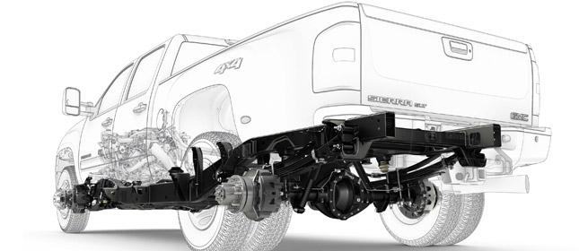 Chevrolet, GMC HD Pickups Get Stronger Underpinnings