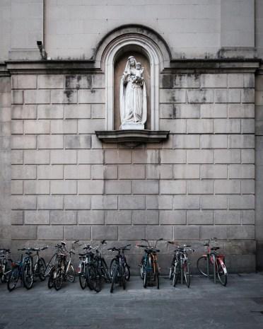 Santa Maria de la bicicleta