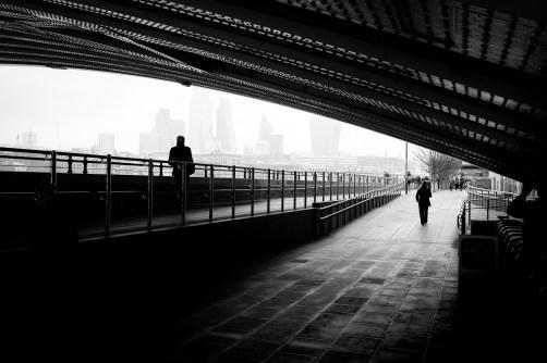 London, Blackfriars Bridge, 2020