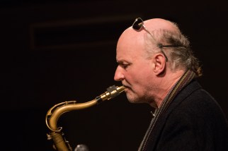 Andrea Vicari, Mornington Lockett, Eric Ford & Marianne Windham performing at Fleet Jazz (Nov 16). Image courtesy of Michael Carrington (Aldershot, Farnham & Fleet Camera Club).