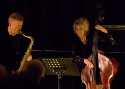 Iain Ballamy and Marianne Windham at Fleet Jazz on 21st March 2017. Photograph courtesy of Michael Carrington (Aldershot, Farnham & Fleet Camera Club)