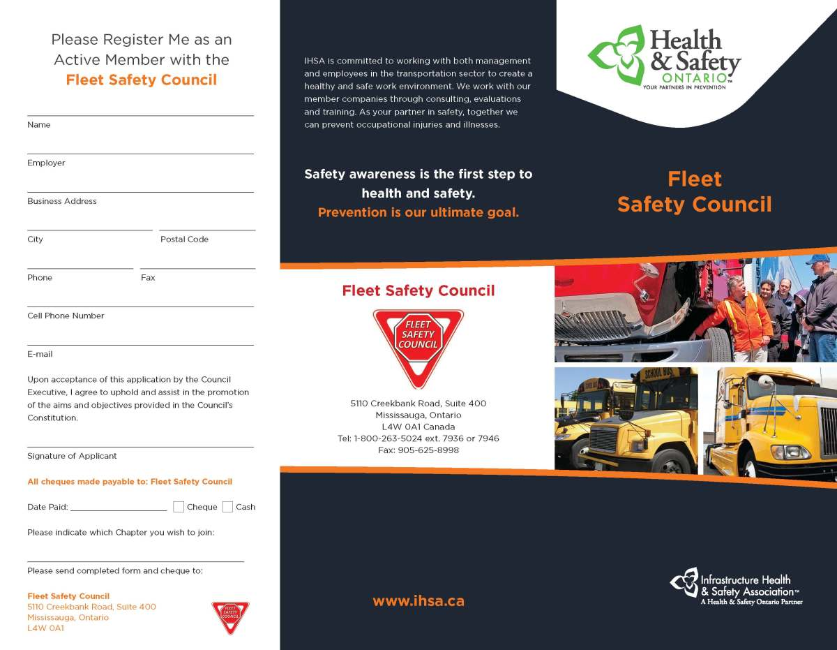Fleet Safety Council Page 1