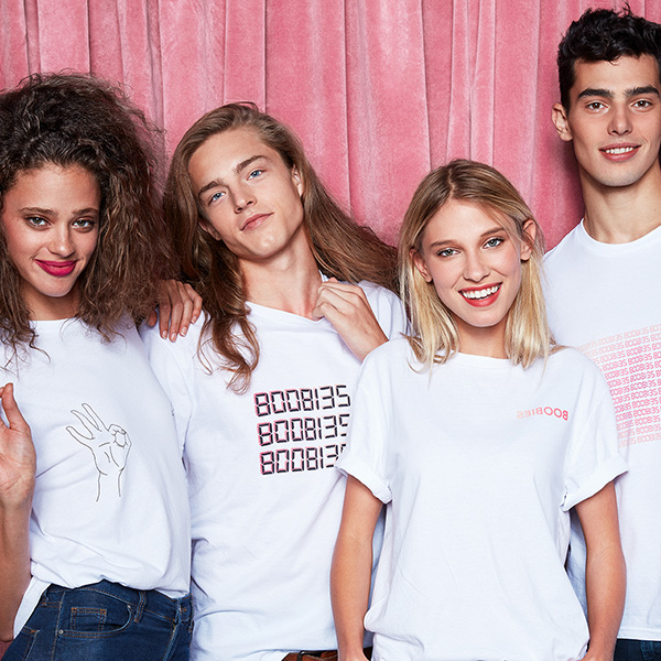 H&M x Rethink #8008135 T-shirt collection