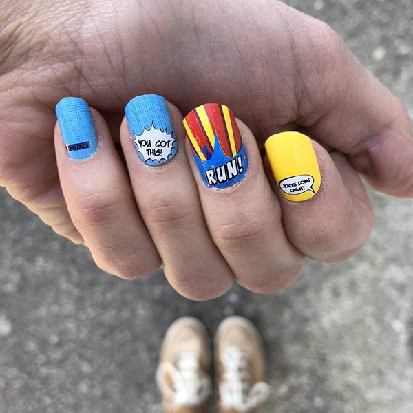 Sarah Marie Design Studio's nail wraps