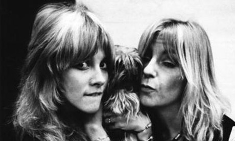 Stevie Nicks and Christine McVie in 1975 Photograph: Fin Costello