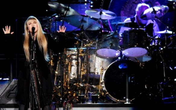 Fleetwood Mac in concert in New York