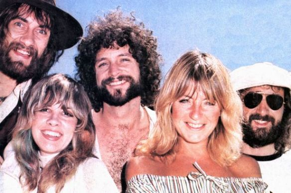 1975: Mick, Stevie, Lindsey, Chrissie and John