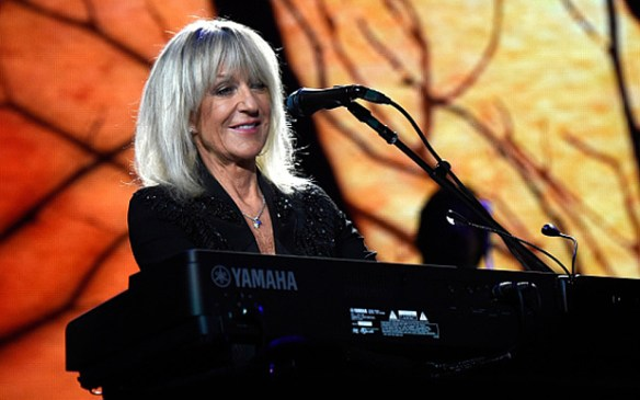 NEW YORK, NY - OCTOBER 07:  Christine McVie performs at Madison Square Garden on October 7, 2014 in New York City.  (Photo by Kevin Mazur/WireImage)