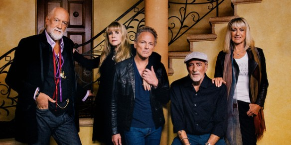 Fleetwood Mac, from left: Mick Fleetwood, Stevie Nicks, Lindsey Buckingham, John McVie and Christine McVie.