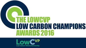 Shortlist for 2016 LowCVP Low Carbon Champions Awards announced