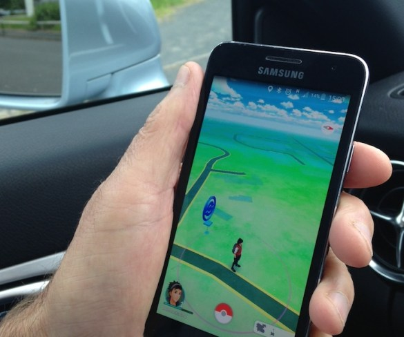 Pokemon Go players putting road users at risk